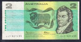 AUSTRALIA 1985. 2 DOLARES B371. MBC VER FOTO.B372 - Decimal Government Issues 1966-...