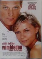 Folleto De Mano. Película Wimbledon. Kirsten Dunst. Paul Bettany. Sam Neill - Merchandising