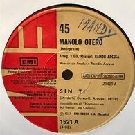 Sencillo Argentino De Manolo Otero Año 1977 - Sonstige - Spanische Musik