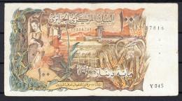 ARGELIA/ALGERIE 1970  100 DINARS MBC VERY FINE    PICK Nº 128 VER FOTO.B670 - Algeria