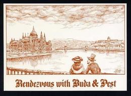 Hungría. Budapest *Legenda. Rendezvous With Buda&Pest* Nueva. - Hungría