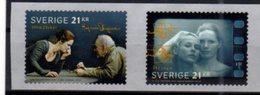 SWEDEN, 2018, MNH,CINEMA, INGMAR BERGMAN, 2v - Cinéma