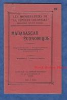Livre Ancien Vers 1926 / 1927 - MADAGASCAR ECONOMIQUE - Economie / Importations / Exportations - Le Dépeche Coloniale - Economie