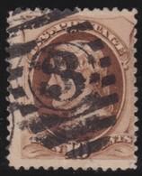 USA      .           Yvert   .    44      .           O   .       Cancelled   .    /    .    Cancelled - 1847-99 Algemene Uitgaves