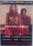 Folleto De Mano. Película Monster. Charlize Theron. Mark Damon. Clark Peterson - Merchandising
