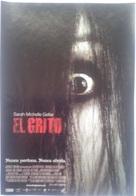 Folleto De Mano. Película El Grito. Sarah Michelle Gellar. Clea Duvall. Bill Pullman - Merchandising