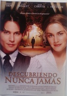 Folleto De Mano. Película Descubriendo Nunca Jamás. Johnny Depp. Kate Winslet. Dustin Hoffman - Merchandising