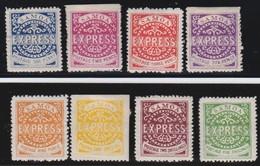 Samoa   .   8  Stamps  Heavily  Hinged         .       *       .         Mint-hinged   .     /    .     Ongebruikt - Samoa