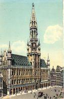 Bruxelles - CPA - Brussel - Grand'Place - Hôtel De Ville - Places, Squares