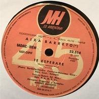 Sencillo Argentino De Aixa Barreto Año 1977 - Vinyl Records