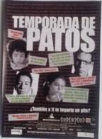 Folleto De Mano. Película Temporada De Patos. Daniel Miranda. Diego Cataño. Danny Perea - Merchandising