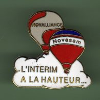 MONTGOLFIERE *** NOVALLIANCE - NOVASAM *** A045 - Airships