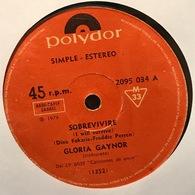 Sencillo Argentino De Gloria Gaynor Año 1978 - Disco & Pop