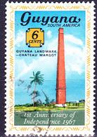 Guayana - 1. Jahrestag Der Unabhängigkeit (MiNr: 269) 1967 - Gest Used Obl - Guyana (1966-...)