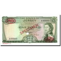 Billet, Jersey, 1 Pound, 1963, Specimen TDLR, KM:8s2, NEUF - Jersey