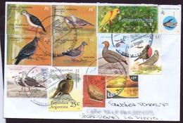 Argentina - Lettre - Oiseaux D'Argentine - Pigeons - Autres Oiseaux - Collections, Lots & Series
