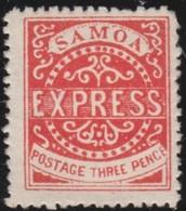 Samoa      .   Yvert    2   .      *          .  Ongebruikt   .     /    .     Mint-hinged - Samoa