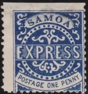Samoa      .   Yvert    1     .      *          .  Ongebruikt   .     /    .     Mint-hinged - Samoa