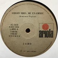 Sencillo Argentino De Jairo Año 1974 - Vinyl Records