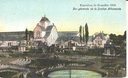 Bruxelles - CPA - Brussel - Exposition 1910 - Vue Générale De La Section Allemande - Monuments, édifices
