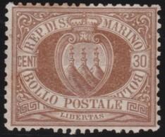 San  Marino       .   Yvert     .    6     .       *      .   Ongebruikt    .     /    .     Mint-hinged - San Marino