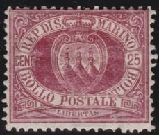 San  Marino       .   Yvert     .    5     .       *      .   Ongebruikt    .     /    .     Mint-hinged - San Marino