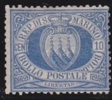 San  Marino       .   Yvert     .    3     .       *      .   Ongebruikt    .     /    .     Mint-hinged - Ongebruikt