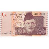Billet, Pakistan, 20 Rupees, 2006, Undated (2006), KM:46b, NEUF - Pakistan