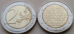 Portugal 2 Euro 2018 UNC (From Roll) - National Printing Office - Portugal