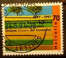SUIZA 1997 Anniversaries. USADO - USED. - Suiza
