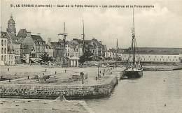 LE CROISIC - Quai De La Petite Chambre - Les Jonchères Et La Poissonnerie - 21 - Le Croisic
