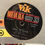 Sencillo Argentino De Violeta Rivas Año 1964 - Vinyl Records