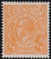 Australia   .    SG   .     85   .      Wm   Small  Multiple Crown  .    **    .      MNH   .   /   .    Postfris - 1913-36 George V : Hoofden