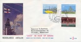 Netherlands Antilles Nederlandse Antillen 1974 FDC Oil Industry - Fabbriche E Imprese