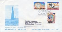 Netherlands Antilles Nederlandse Antillen 1975 FDC Salt Industry - Fabbriche E Imprese