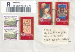 R Brief  Ellmau - Stallikon  (1000 Jahre Oesterreich)           1996 - 1991-00 Storia Postale