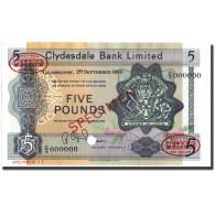 Billet, Scotland, 5 Pounds, 1963, 1963-09-02, Specimen, KM:196, NEUF - Scozia