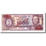 Billet, Paraguay, 1000 Guaranies, 1952, 1952, Specimen TDLR, KM:201s, NEUF - Paraguay
