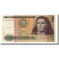 Billet, Pérou, 500 Intis, 1987-06-26, KM:134b, TTB - Perú