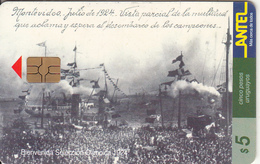 URUGUAY - Bienvenida Seleccion Olimpica 1924(60a), 07/99, Used - Uruguay
