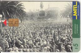 URUGUAY - Bienvenida Seleccion Olimpica 1928(59a), 07/99, Used - Uruguay
