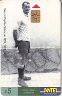 URUGUAY - Nasazzi Capitan Seleccion 1924-1928-1930(58a), 07/99, Used - Uruguay