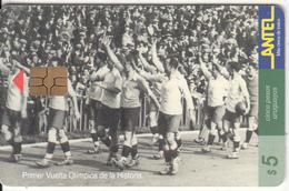 URUGUAY - Primer Vuelta Olimpica De La Historia(57a), 07/99, Used - Uruguay