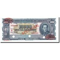 Billet, Bolivie, 10,000 Bolivianos, 1945, Specimen TDLR, KM:151, NEUF - Bolivie