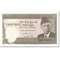 Billet, Pakistan, 5 Rupees, 1984, Undated (1984), KM:38, SUP+ - Pakistan