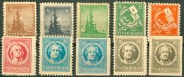 SBZ 92/99Y A+B ** Postfrisch - Sowjetische Zone (SBZ)