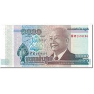 Billet, Cambodge, 1000 Riels, 2012, Undated (2012), KM:63a, NEUF - Cambodia