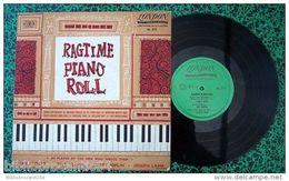 LP 25cm *RAGTIME PIANO ROLL < J.SCOTT/T.TURPIN /S.JOPLIN /J. LAMB < LONDON AL 3515 - Jazz