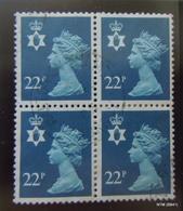 GREAT BRITAIN NORTHERN IRELAND. 1971. 22p. Block Of 4 Stamps. SG NI53. Fine Used - Emisiones Locales