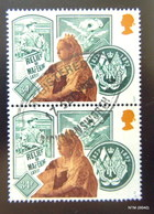 GREAT BRITAIN 1987. 150th Anniv Of Queen Victoria's Accession. 34p. Block Of 2. SG 1370. Fine Used. - 1952-.... (Elizabeth II)